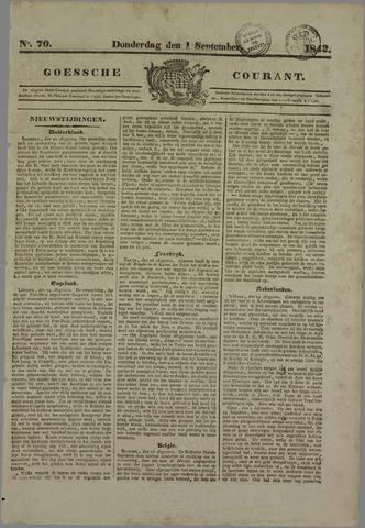 Goessche Courant 1842-09-01