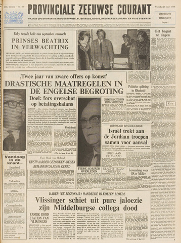 Provinciale Zeeuwse Courant 1968-03-20
