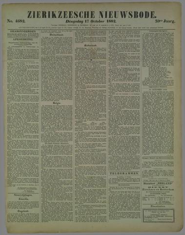 Zierikzeesche Nieuwsbode 1882-10-17