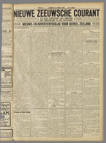 Nieuwe Zeeuwsche Courant 1933-08-24