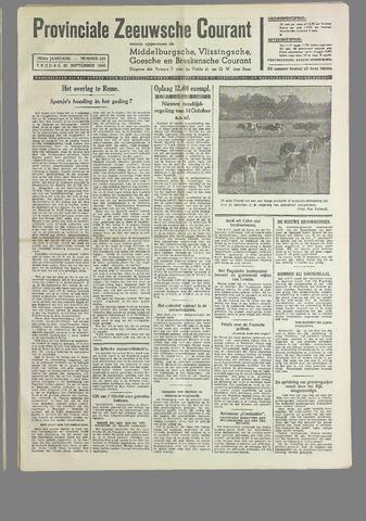 Provinciale Zeeuwse Courant 1940-09-20