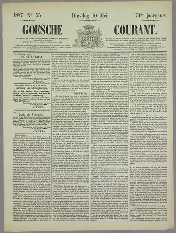 Goessche Courant 1887-05-10