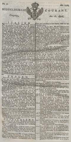 Middelburgsche Courant 1778-04-28