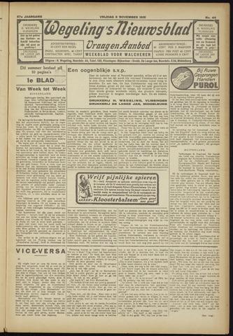 Zeeuwsch Nieuwsblad/Wegeling's Nieuwsblad 1931-11-06