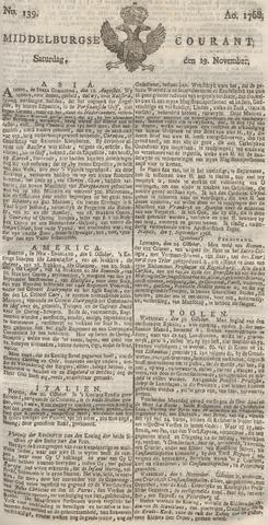 Middelburgsche Courant 1768-11-19
