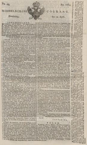 Middelburgsche Courant 1764-04-12