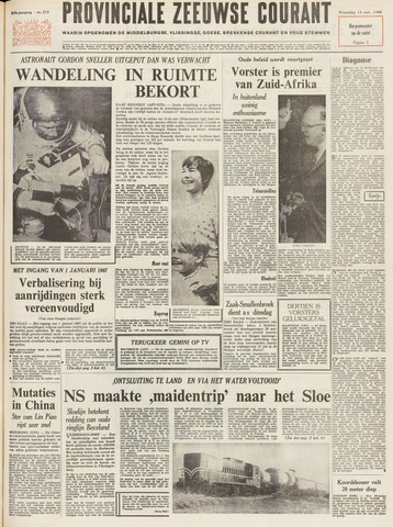 Provinciale Zeeuwse Courant 1966-09-14