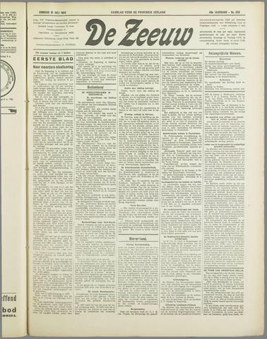 De Zeeuw. Christelijk-historisch nieuwsblad voor Zeeland 1934-07-31