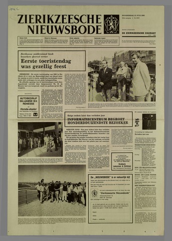 Zierikzeesche Nieuwsbode 1985-07-11