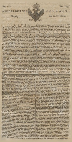 Middelburgsche Courant 1775-09-19