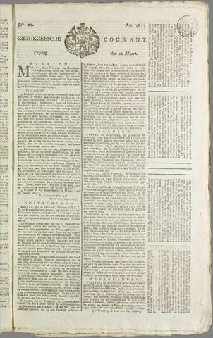 Zierikzeesche Courant 1814-03-11