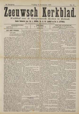 Zeeuwsche kerkbode, weekblad gewijd aan de belangen der gereformeerde kerken/ Zeeuwsch kerkblad 1908-11-13