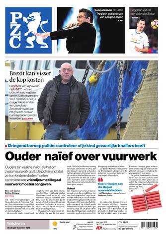 Provinciale Zeeuwse Courant 2016-12-27