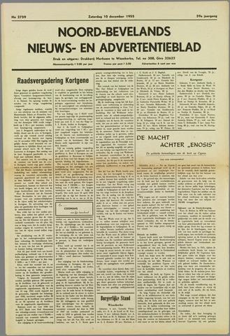 Noord-Bevelands Nieuws- en advertentieblad 1955-12-10