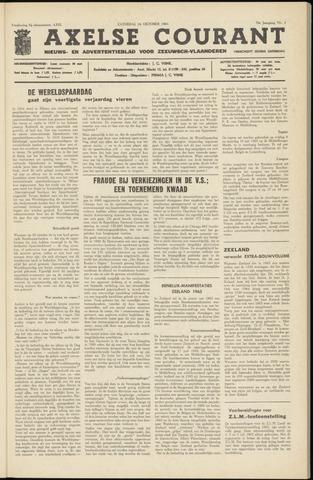 Axelsche Courant 1964-10-24