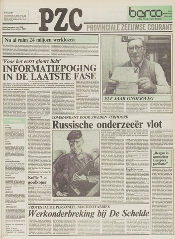 Provinciale Zeeuwse Courant 1981-11-03