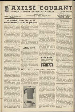 Axelsche Courant 1960-02-06