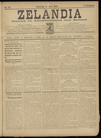 Zelandia. Nieuws-en advertentieblad voor Zeeland | edities: Het Land van Hulst en De Vier Ambachten 1902-06-21