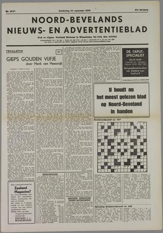 Noord-Bevelands Nieuws- en advertentieblad 1976-10-30