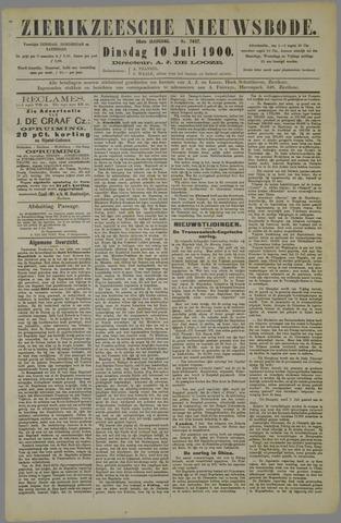 Zierikzeesche Nieuwsbode 1900-07-10