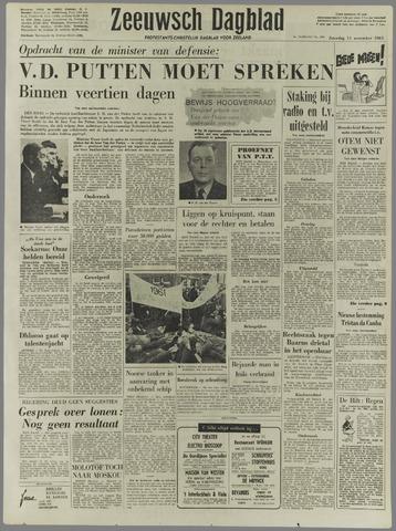 Zeeuwsch Dagblad 1961-11-11