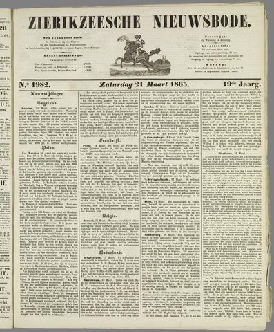 Zierikzeesche Nieuwsbode 1863-03-21