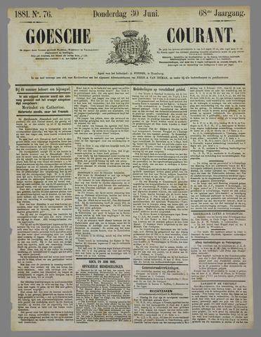 Goessche Courant 1881-06-30