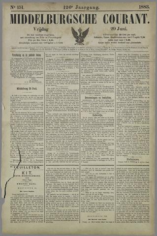 Middelburgsche Courant 1883-06-29