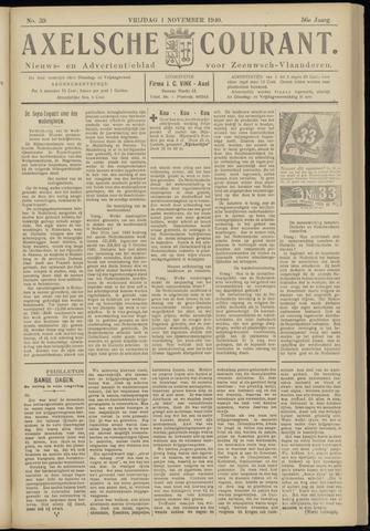 Axelsche Courant 1940-11-01