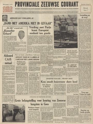 Provinciale Zeeuwse Courant 1963-02-07