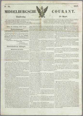 Middelburgsche Courant 1857-03-19