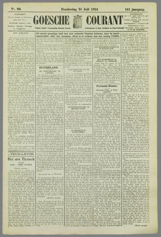Goessche Courant 1924-07-31