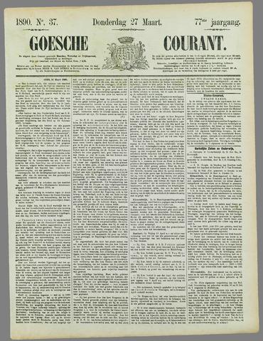 Goessche Courant 1890-03-27