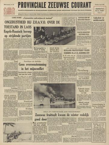 Provinciale Zeeuwse Courant 1963-04-09