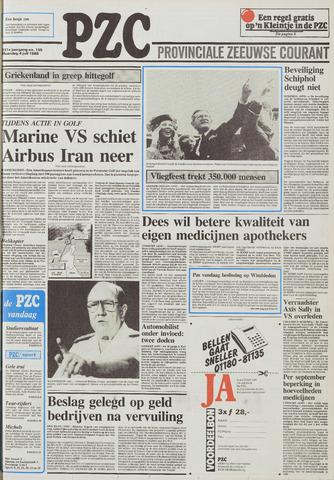 Provinciale Zeeuwse Courant 1988-07-04