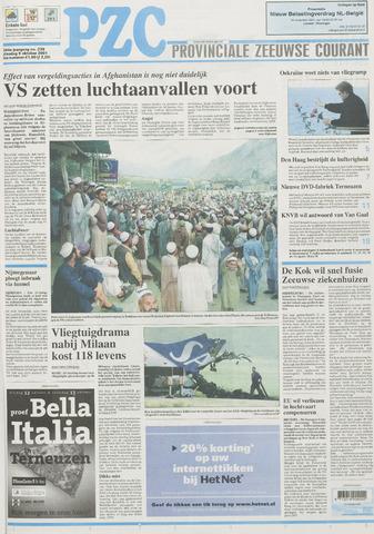 Provinciale Zeeuwse Courant 2001-10-09