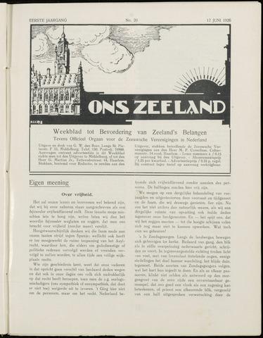 Ons Zeeland / Zeeuwsche editie 1926-06-12