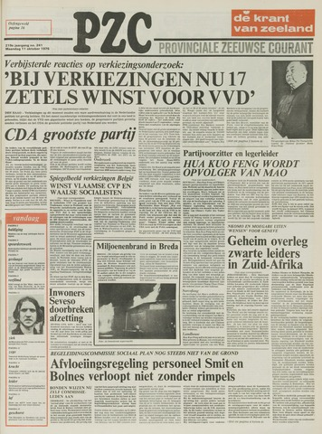 Provinciale Zeeuwse Courant 1976-10-11