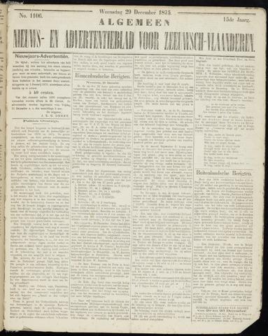 Ter Neuzensche Courant. Algemeen Nieuws- en Advertentieblad voor Zeeuwsch-Vlaanderen / Neuzensche Courant ... (idem) / (Algemeen) nieuws en advertentieblad voor Zeeuwsch-Vlaanderen 1875-12-29