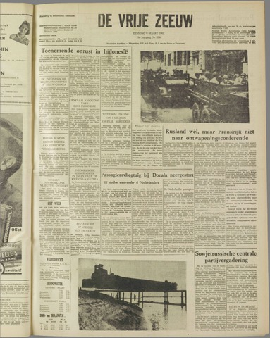de Vrije Zeeuw 1962-03-06