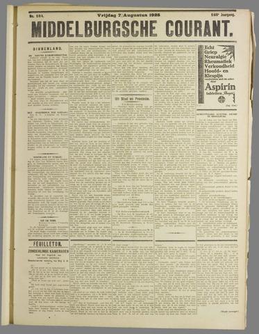 Middelburgsche Courant 1925-08-07