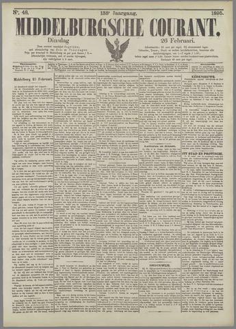 Middelburgsche Courant 1895-02-26