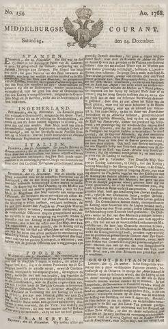 Middelburgsche Courant 1768-12-24