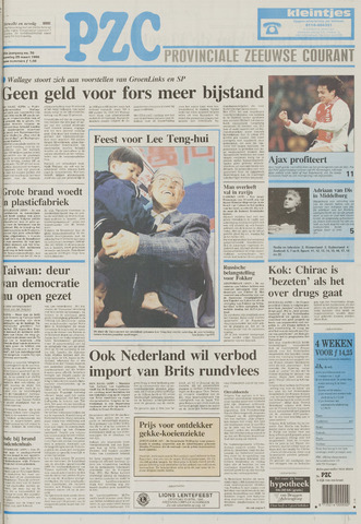 Provinciale Zeeuwse Courant 1996-03-25