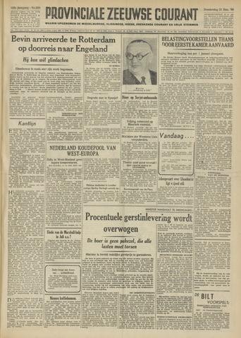 Provinciale Zeeuwse Courant 1950-12-21
