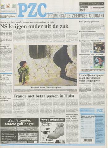 Provinciale Zeeuwse Courant 2002-10-31