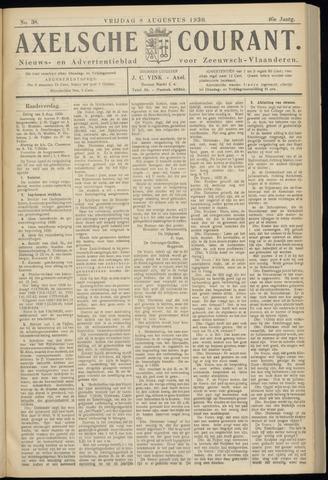 Axelsche Courant 1930-08-08