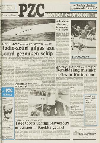 Provinciale Zeeuwse Courant 1984-08-27