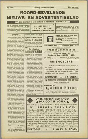 Noord-Bevelands Nieuws- en advertentieblad 1934-02-10