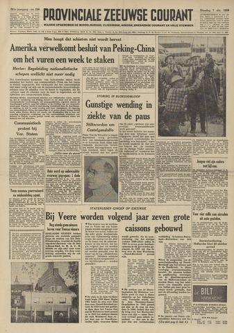 Provinciale Zeeuwse Courant 1958-10-07